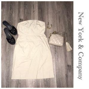 New York & Co. Strapless Dress